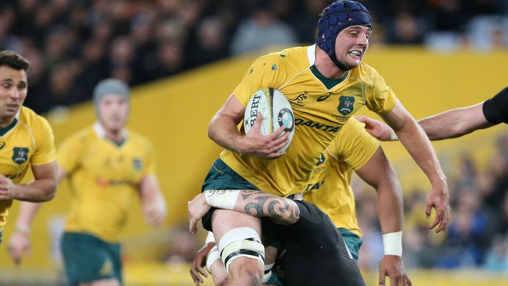 Forward Dean Mumm has been recalled to the Wallabies starting side for Saturday's Rugby Championship test against South Africa.(AAP)