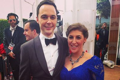 @therealjimparsons: I found @missmayim !!!