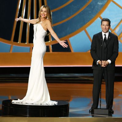2014: Sofia Vergara gets put on a pedestal