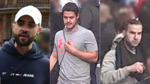 Police are re-appealing for information to identify three men who they believe may be able to assist investigators.
