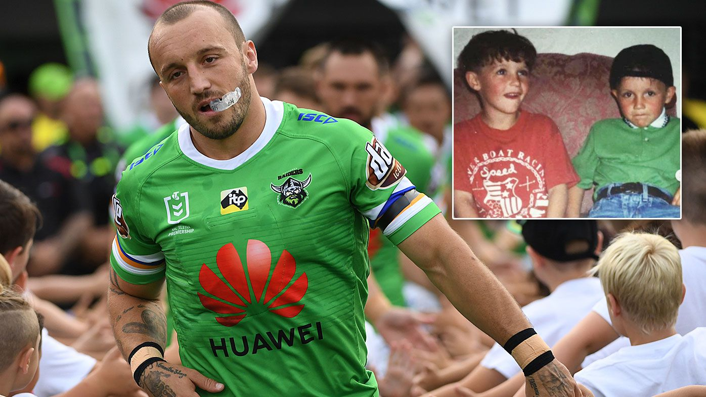Josh Hodgson of the Raiders