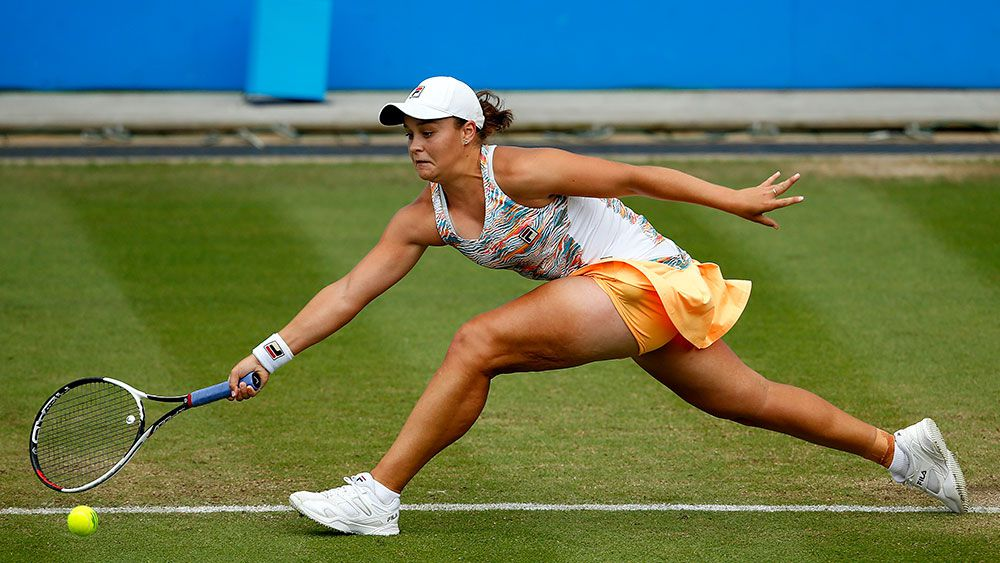Ash Barty. (AAP)