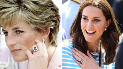 Diana's sapphire engagement ring