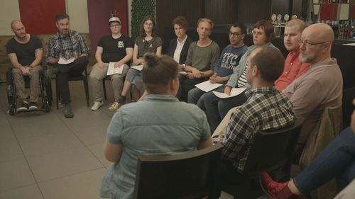 Survivors of gay conversion therapy have a support group in Melbourne called Brave.