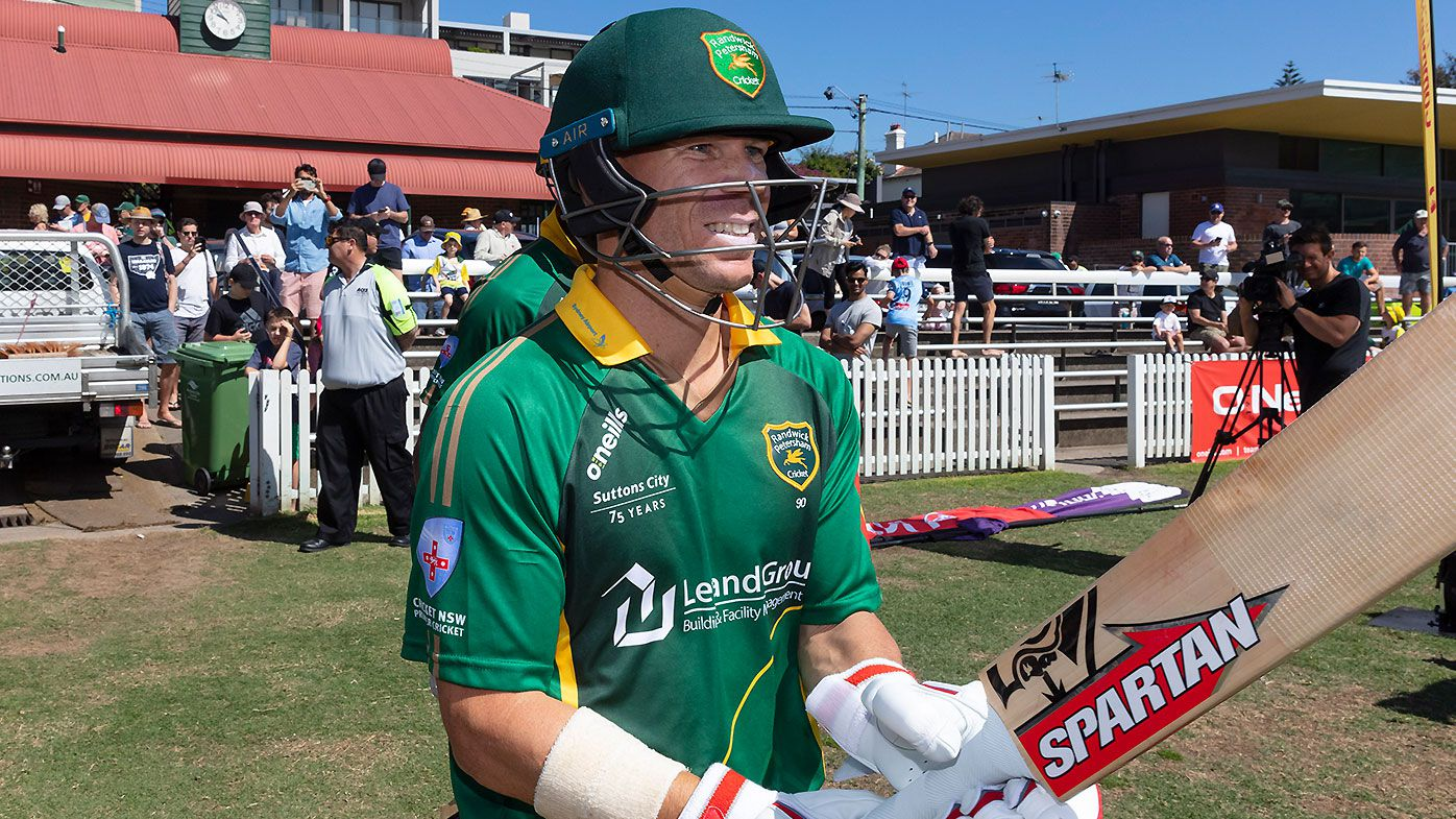 David Warner showcases fitness with furious grade cricket ton ahead of World Cup