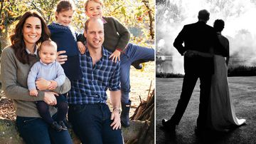 A royal Christmas! New pictures released of the royal family