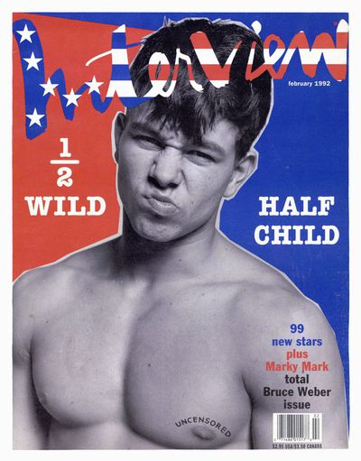 Mark Whalberg, <em>Interview</em> Magazine February 1992