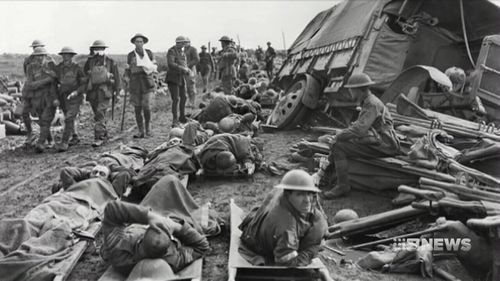 The restored film will be showing at the Australian War Memorial from October 9-12. (Australian War Memorial)