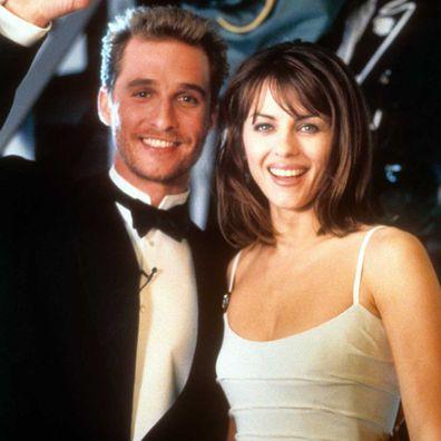 Matthew McConaughey  and Liz Hurley in Edtv.