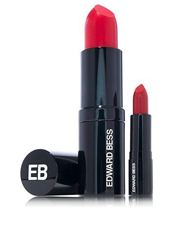 """<a href=""""http://edwardbess.com/makeup/lips"""" target=""""_blank"""">Edward Bess Big Kiss Lip and Cheek Stain.</a>"""