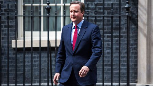 David Cameron announces he will step down as Prime Minister on Wednesday (Getty)