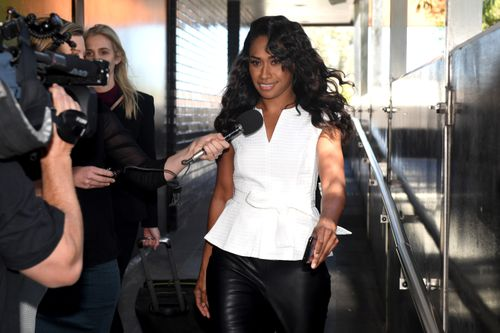 Paulini has pleaded guilty to purchasing a fake driver's licence. (AAP)