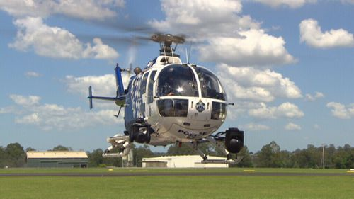 The Polair helicopter is a highly valuable tool.
