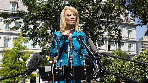Kellyanne Conway is one of Donald Trump's closest advisors.