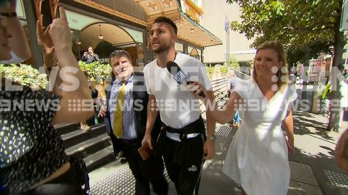 The court ordered Simic to surrender his passport. The footballer will have to remain in Australia until his next court appearance on April 9.