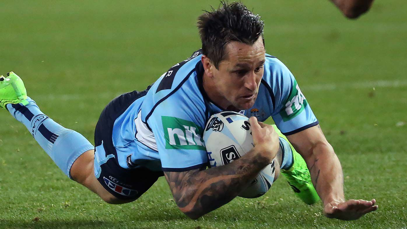 Mitchell Pearce NSW Blues