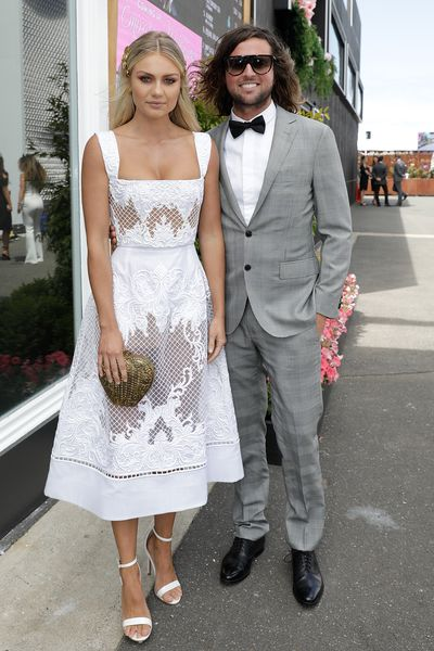 Elyse Knowles and Josh Barker.