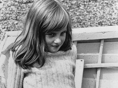 Princess Diana as a girl