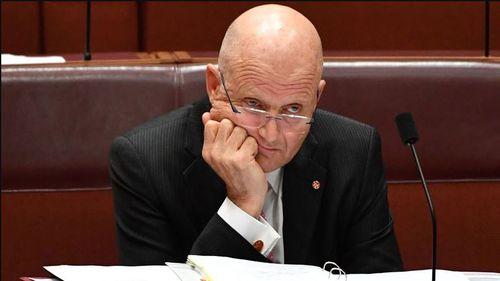 David Leyonhjelm politics quit