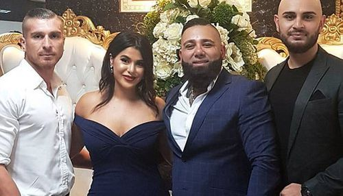 Tajjour is the cousin of John Ibrahim and a member of the Nomads motorcycle gang. (Instagram)