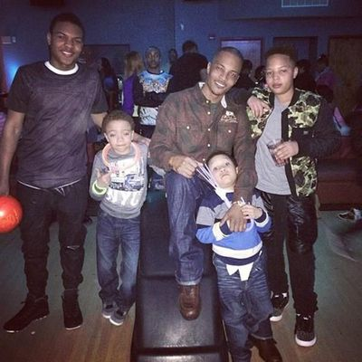 "Rapper T.I.'s kids: Messiah Ya'Majesty, Clifford ""King"" Joseph Harris III and Major Philant"