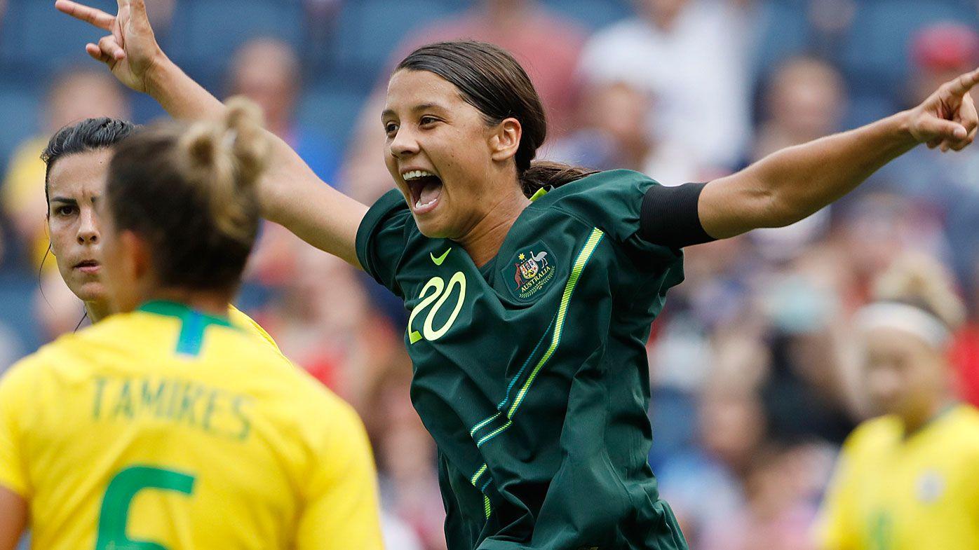 Matildas stun Brazil in dominant Tournament of Nation opening match