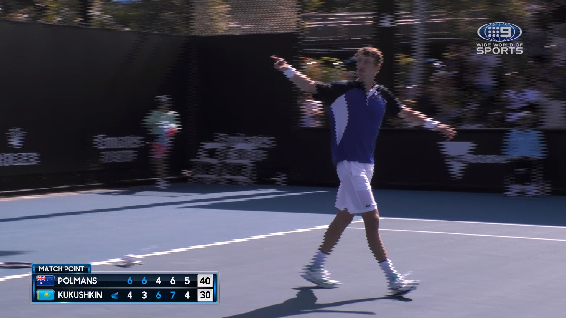 'A dream come true': Unheralded Aussie youngster Marc Polmans stuns Australian Open with thrilling five-set victory