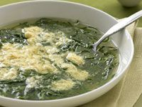 Spinach and egg soup