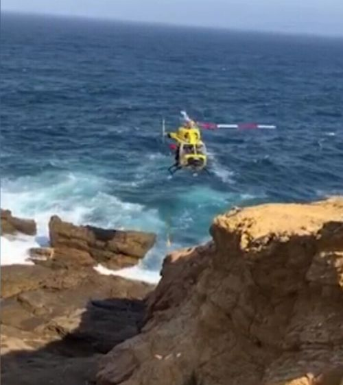Bermagui NSW beach rescue stranded children
