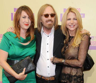 Tom Petty, Adria Petty and Dana Petty