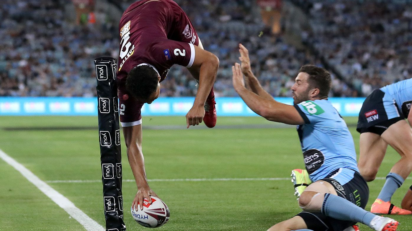 'Greg Inglis look-a-like': Xavier Coates produces stunning Origin try in Game 2