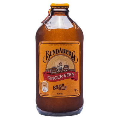 <strong>375ml Bundaberg Ginger Beer (40.5 grams of sugar)</strong>