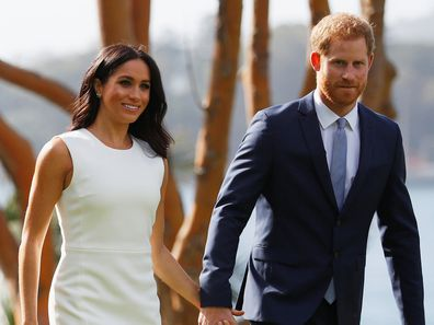 Harry and Meghan Markle's Australian tour