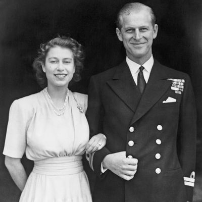 Princess Elizabeth and Prince Philip, 1947