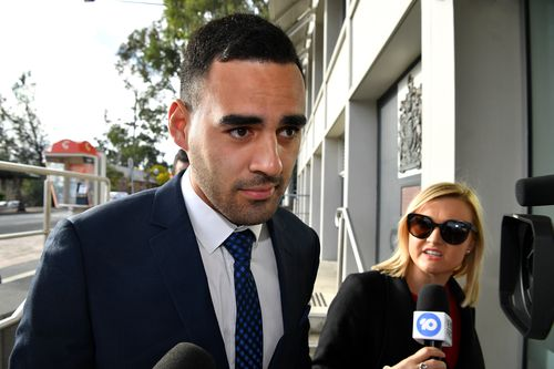 Penrith Panthers NRL player Tyrone May is charged with allegedly filming two women without their knowledge while they engaged in sexual acts.