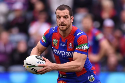 Former Knights player Jarrod Mullen was arrested today and charged over alleged drug trafficking.