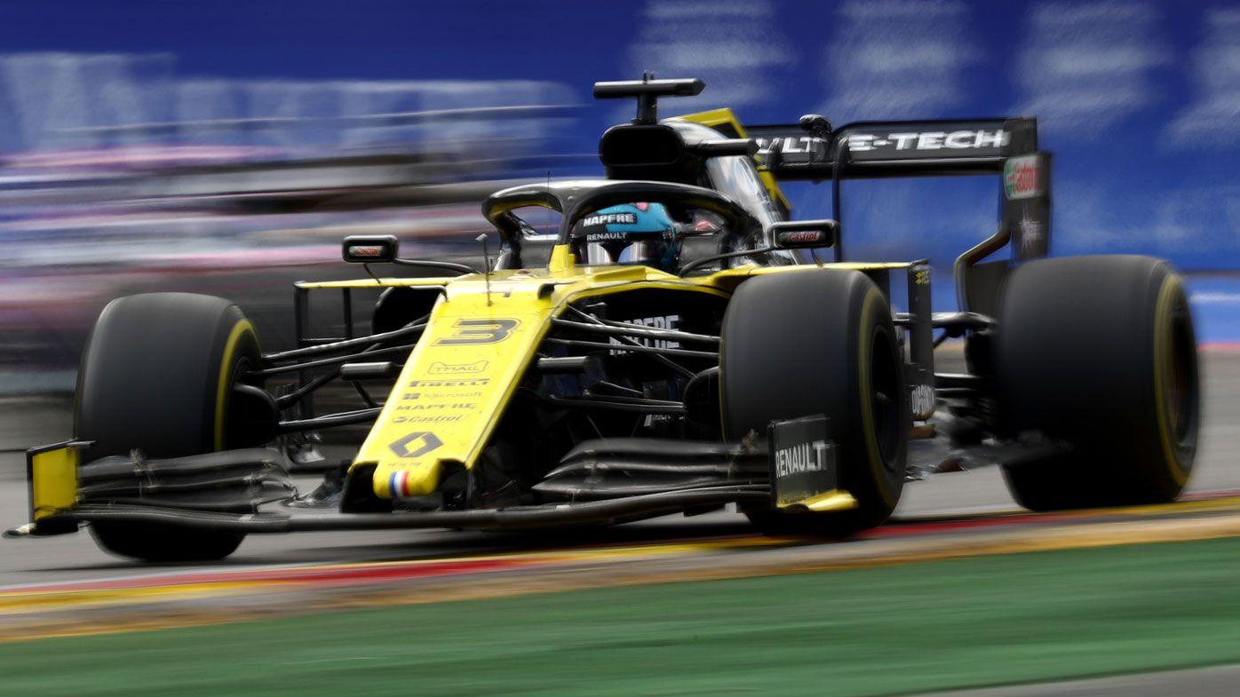 Daniel Ricciardo in tears at Belgian Grand Prix, considered not racing