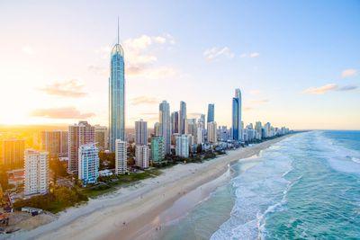 2. Surfers Paradise Beach, QLD, Australia