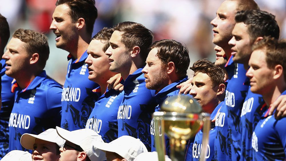 England's one-day team during last year's World Cup. (Getty)