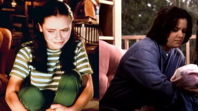 Christina Ricci and Rosie O'Donnell as Roberta Martin in Now and Then