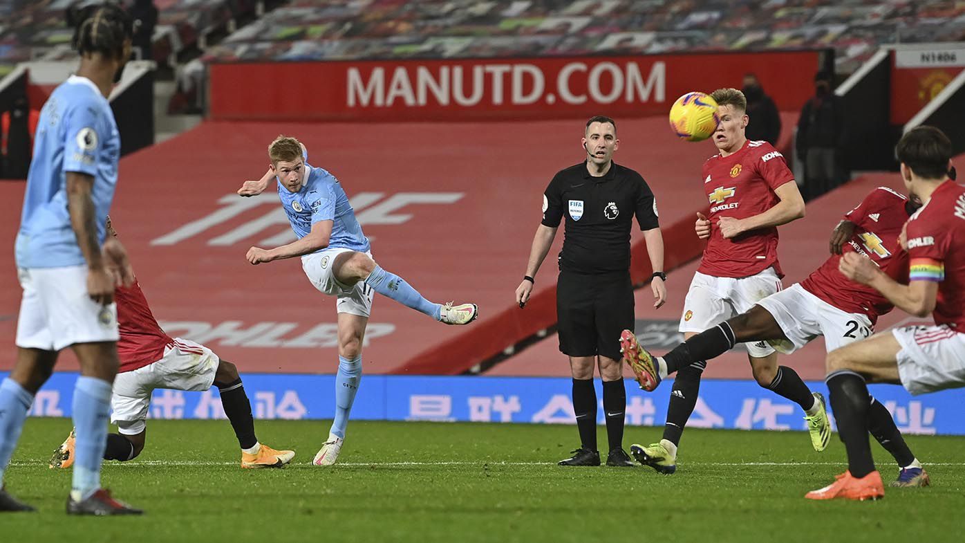 No fans, no goals: Drab scoreless draw in EPL's United vs City Manchester derby