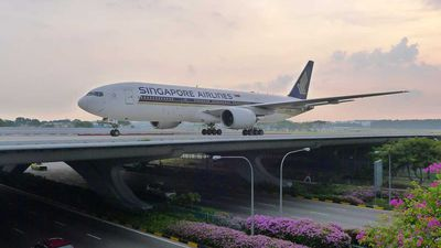 Holiday in Singapore's Changi Airport