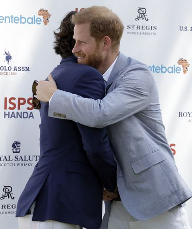 Prince Harry and Ignacoio 'Nacho' Figueras