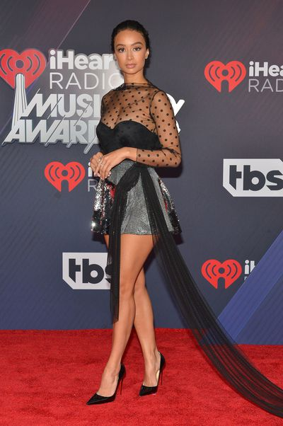 Draya Michele at the 2018 iHeart Radio Music Awards in Los Angeles