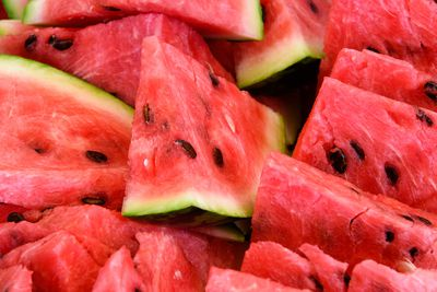 Watermelon: 6g sugar per 100g