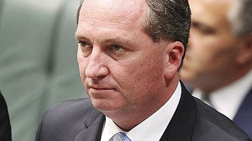 Barnaby Joyce made political history in 2013 by shifting from QLD Senator to NSW lower house member. (AAP)