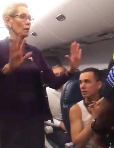 Delta onboard brawl