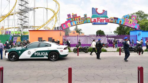An accident at the Feria de Chapultepec in Mexico City left two people dead Saturday. Full Credit: El Universal Agency/Hugo Garcia/EELG/AP