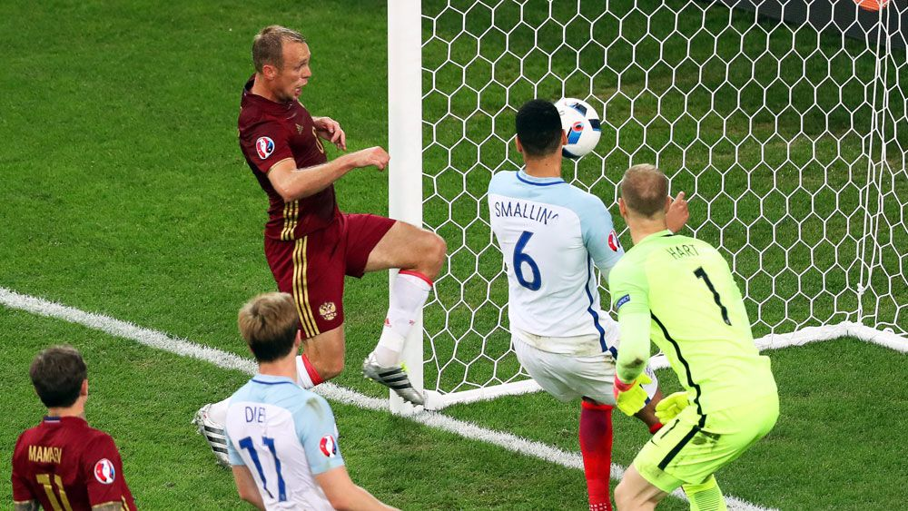 Dominant England punished by Russia