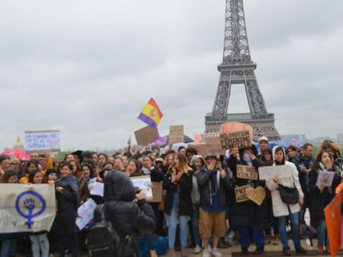 Protests have spread to other European countries, including France and Italy.